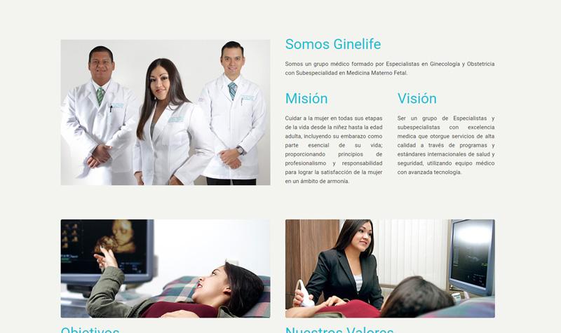 ginelife página web