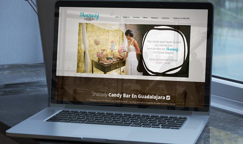 shazady sitio web