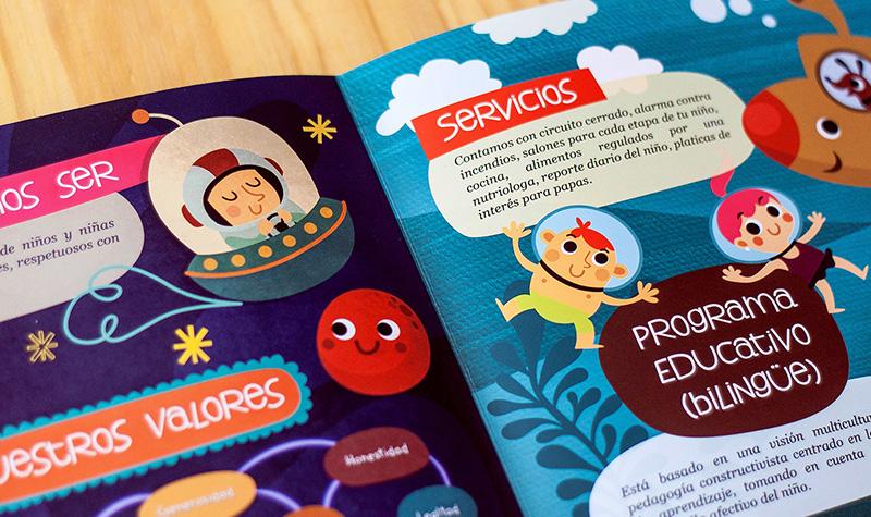 diseño gráfico para preescolar